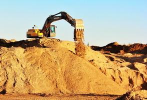Добыча карьерного песка - Фото 1