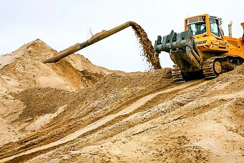 Добыча намывного песка