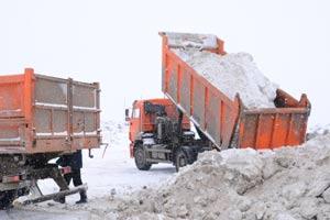 Вывоз снега самосвалом - Фото 3